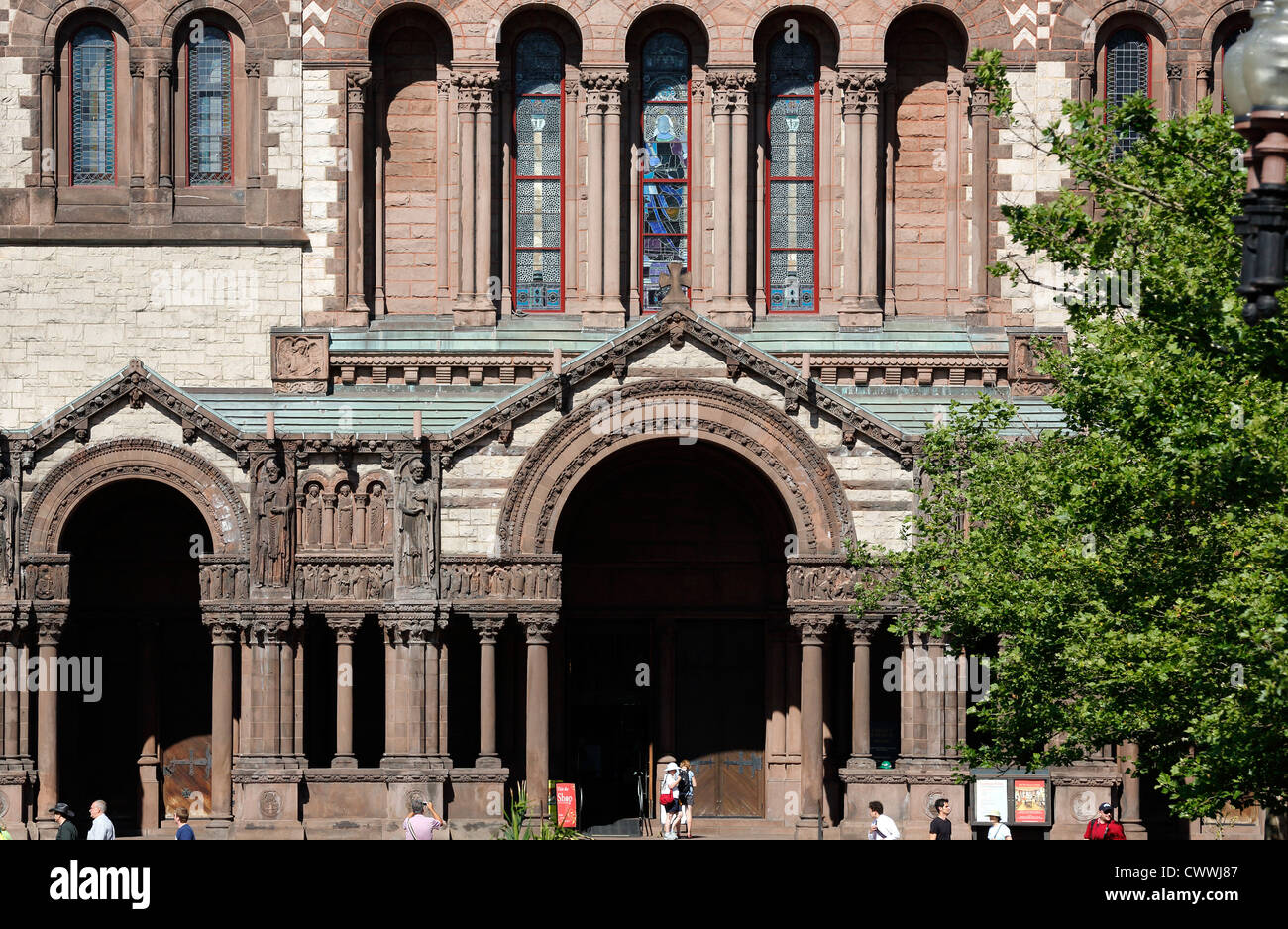 Trinity Church, Boston, Massachusetts - Stock Image