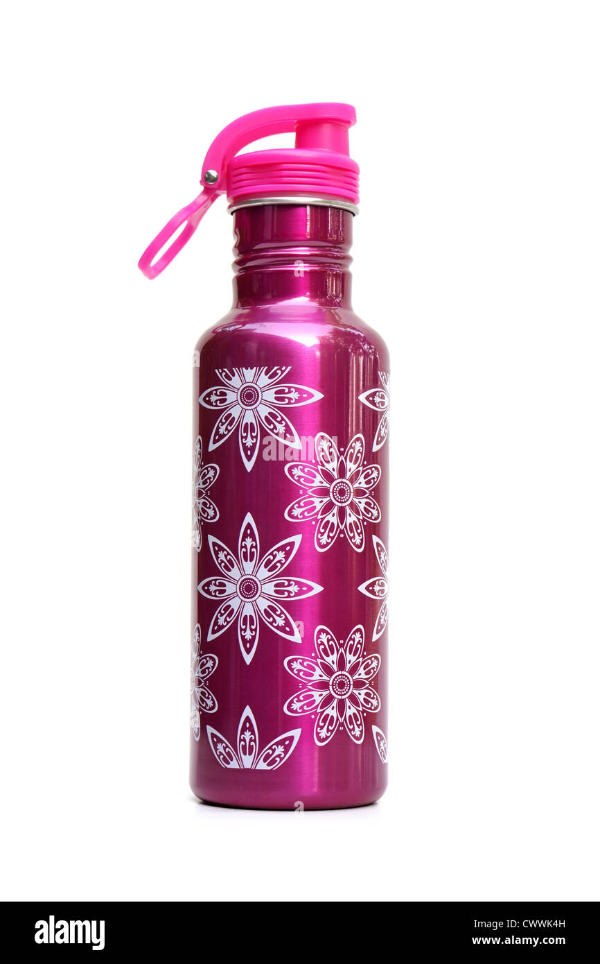 Water Bottle, Sports Drinking Flask - Stock Image