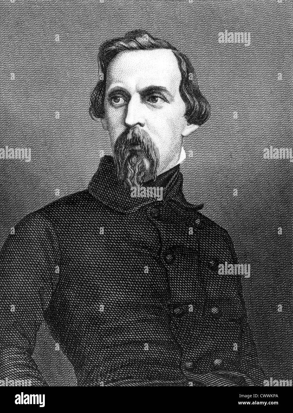 Felix Eugen Wilhelm, Prince of Hohenlohe (1818-1900) on engraving from 1859. Stock Photo