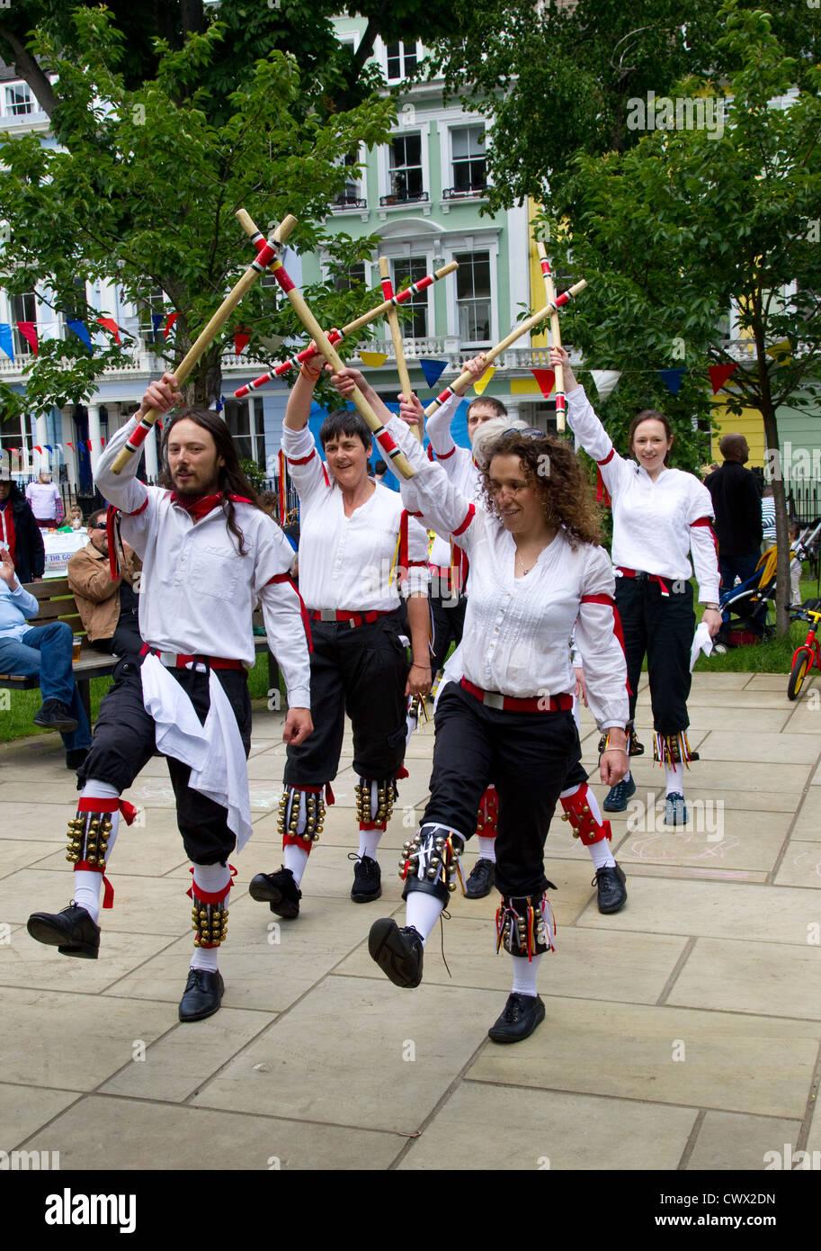 Morris dancing - Stock Image