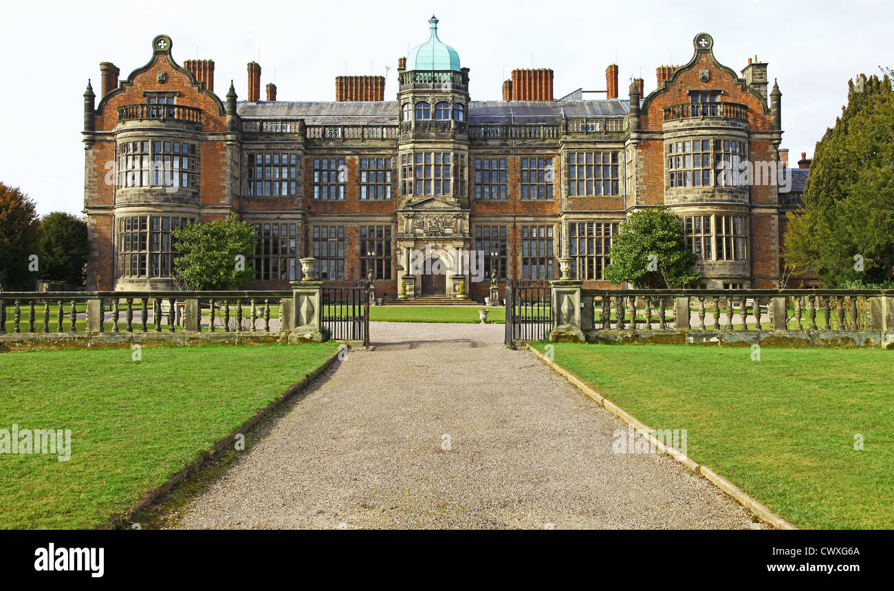 Ingestre Hall stately home or country house near to Stafford Staffordshire England UK - Stock Image