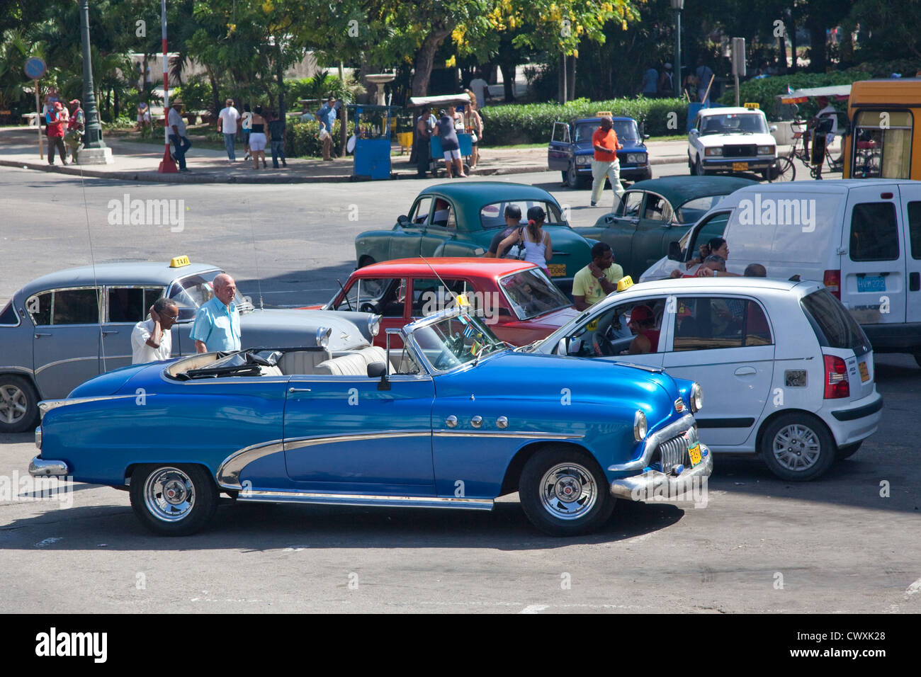 Havana has a fabulous mix of old and new cars cruising around the ...