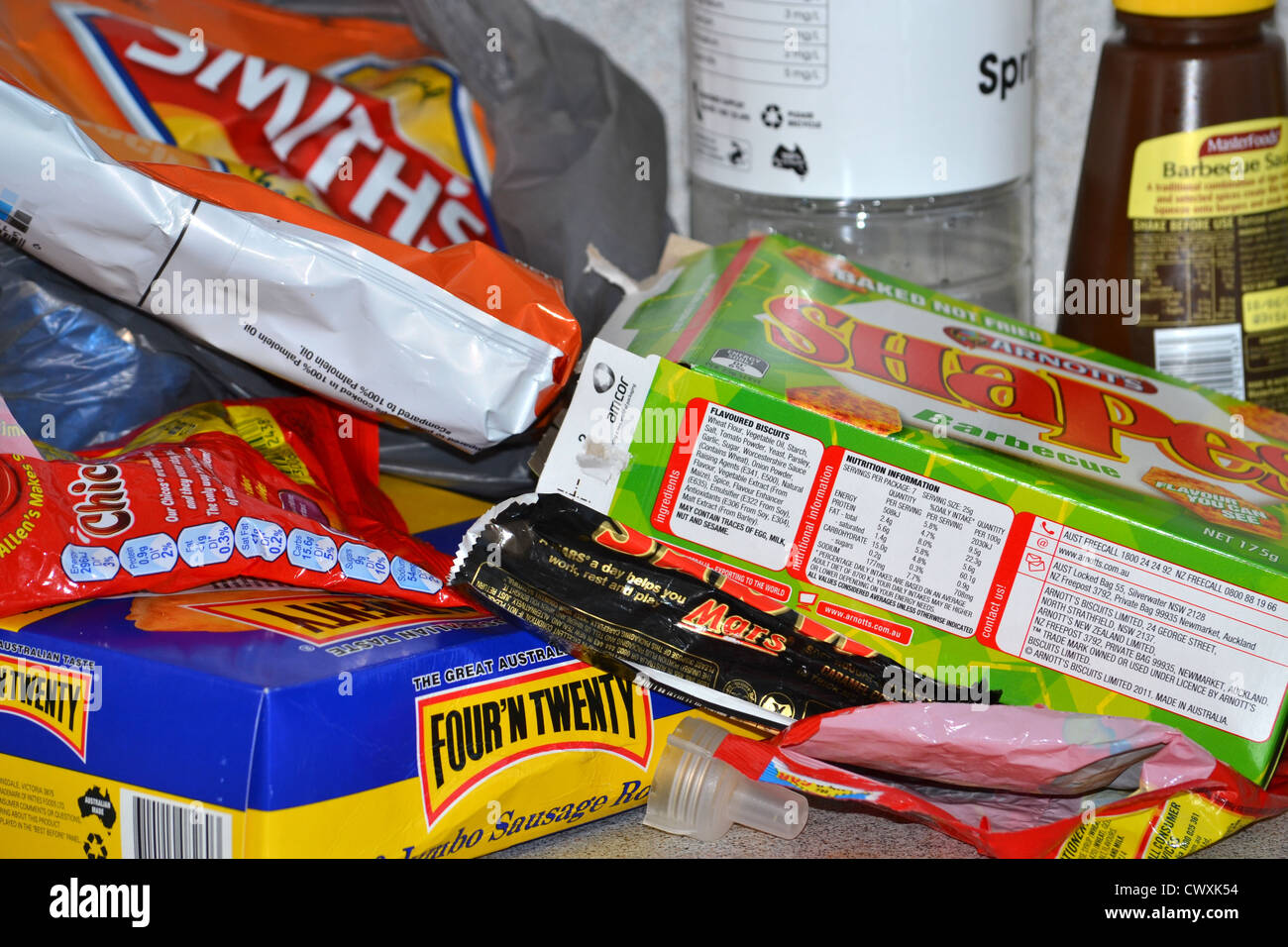 Food Packaging Stock Photos & Food Packaging Stock Images