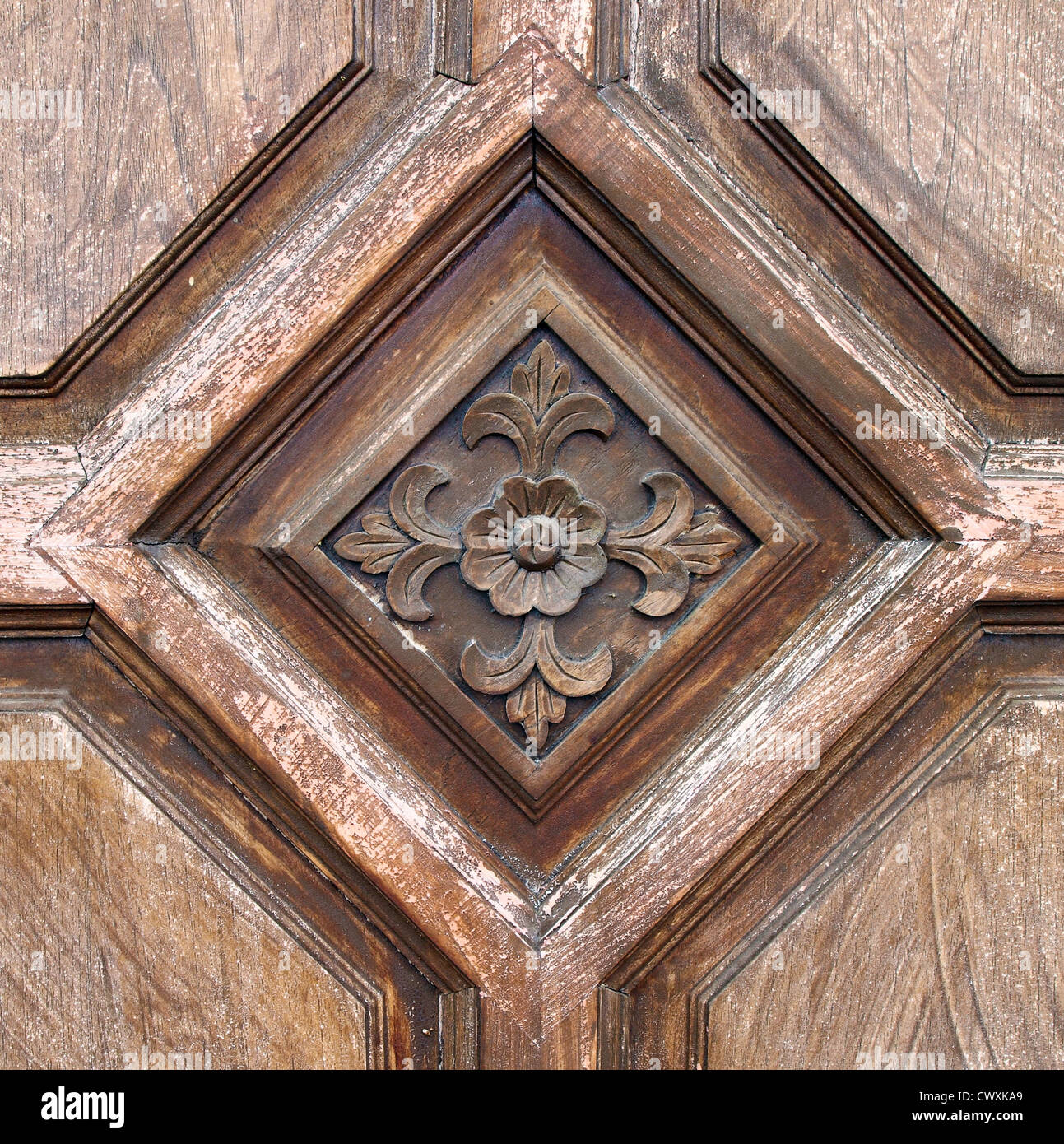 Wood thai pattern handmade wood carvings stock photo  alamy