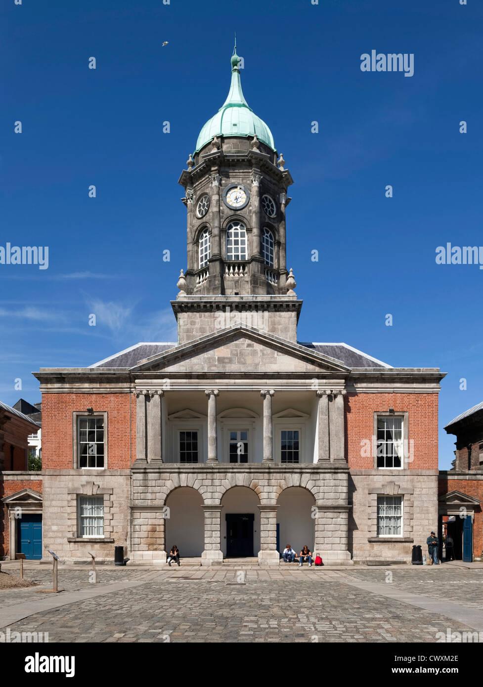 Dublin Castle, Dublin, Ireland - Stock Image