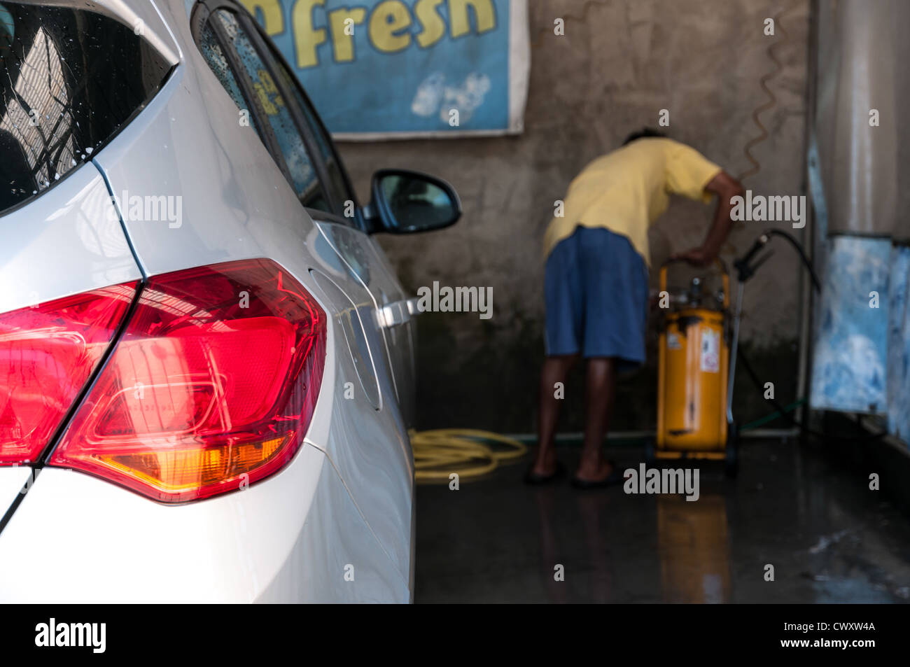 Interior And Exterior Car Cleaning