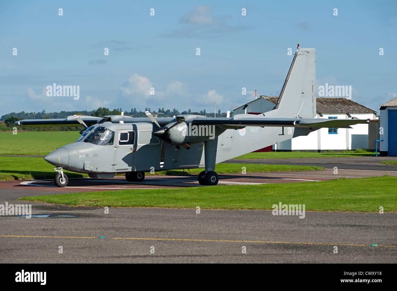 PBN 2T Islander CC2 at Halfpenny Green Airport, Wolverhampton.  SCO 8365 - Stock Image