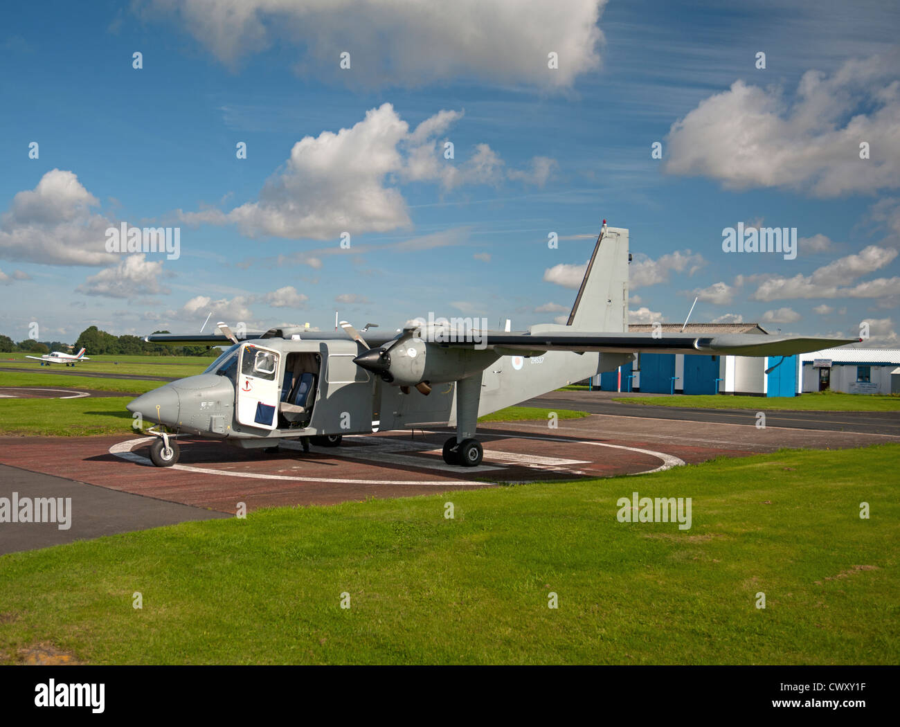 PBN 2T Islander CC2 at Halfpenny Green Airport, Wolverhampton.   SCO 8366 - Stock Image