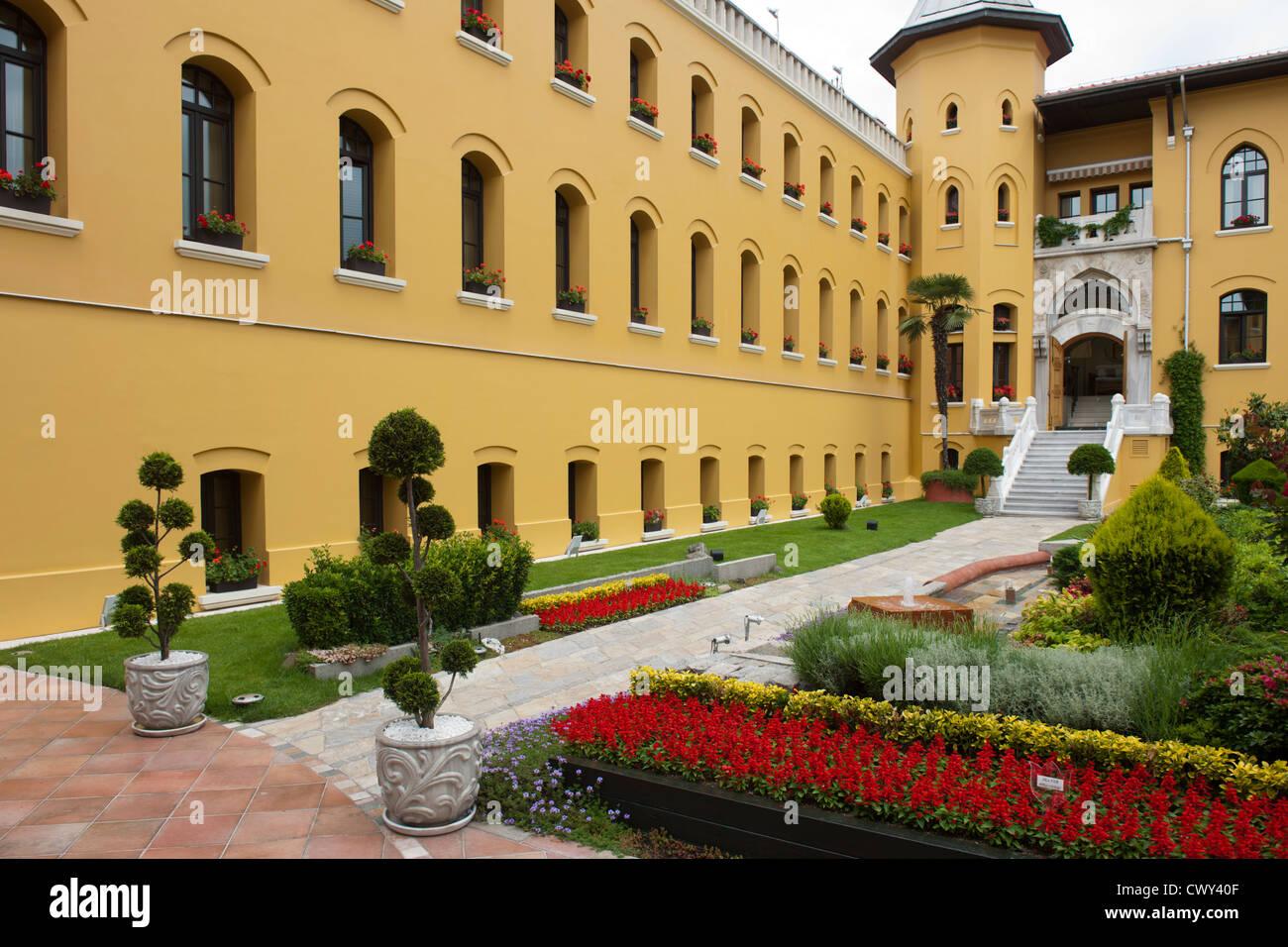 Türkei, Istanbul, Sultanahmet, Four Seasons Hotel Sultanahmet im Gebäude des ehemaligen Gefängnisses Stock Photo