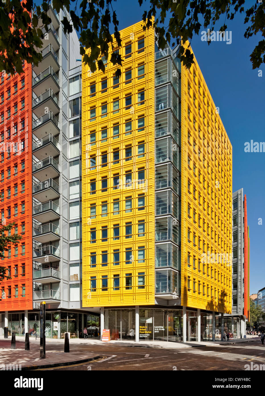 Central Saint Giles is a mixed-use development in central London