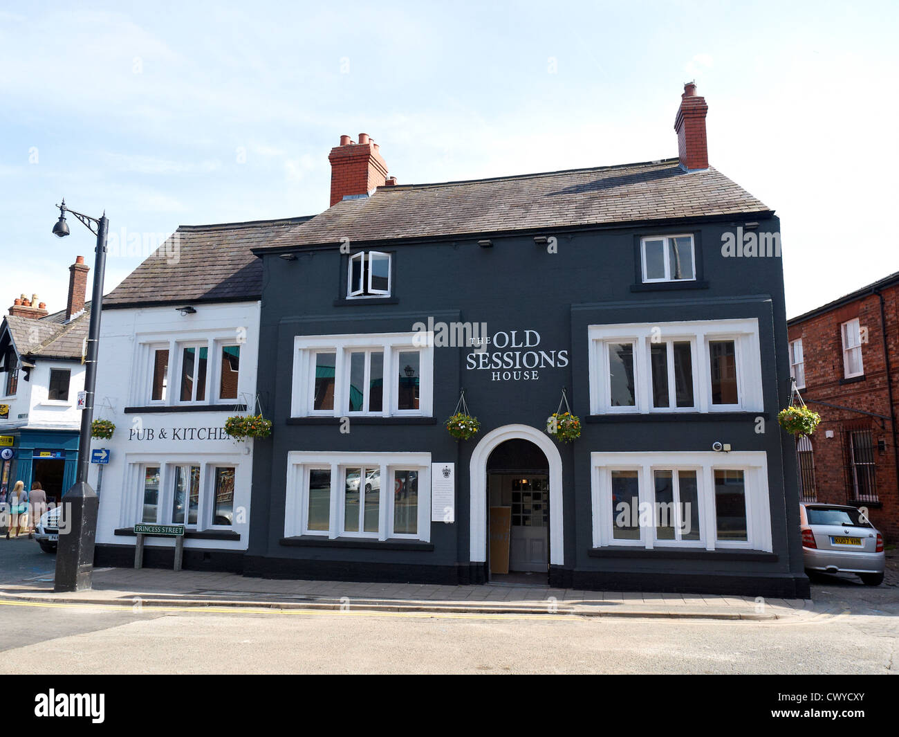 The Old Sessions House restaurant in Knutsford Cheshire UK - Stock Image