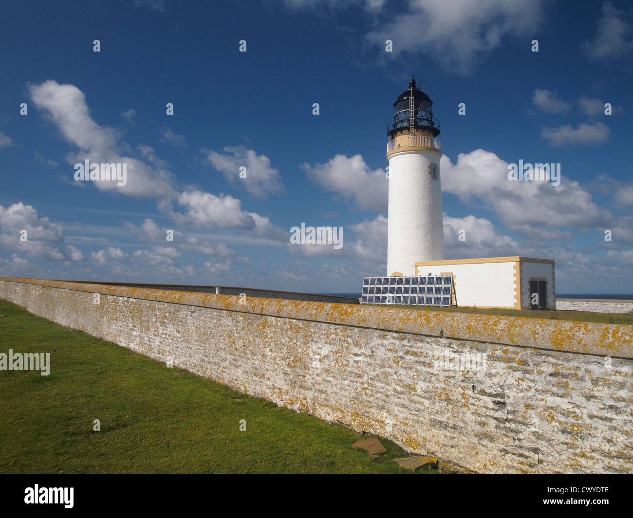 Lighthouse, Noup Head, Westray, Orkney, Scotland - Stock Image