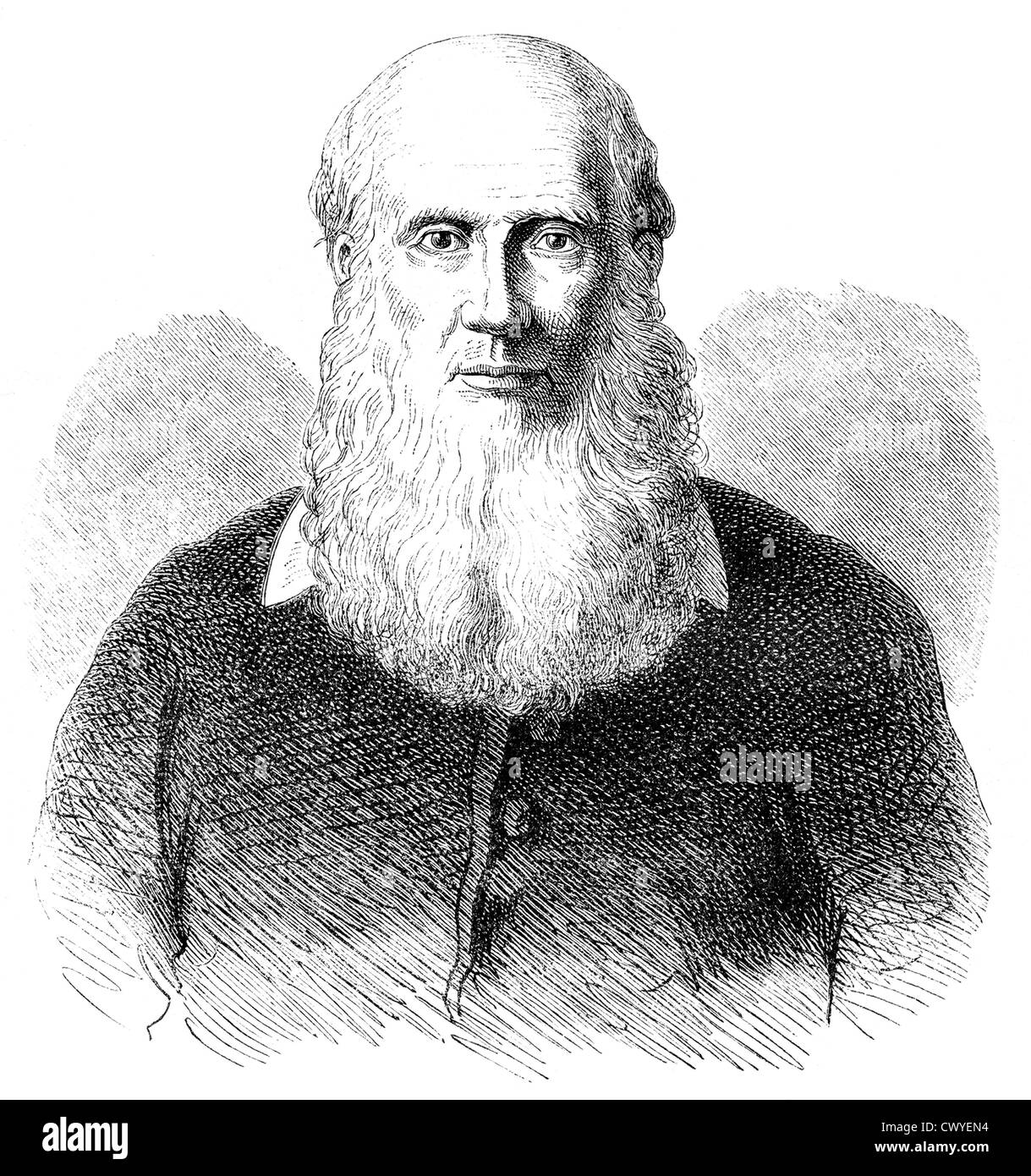 Friedrich Ludwig Jahn, 1778 - 1852, the initiator of the German gymnastics movement, - Stock Image
