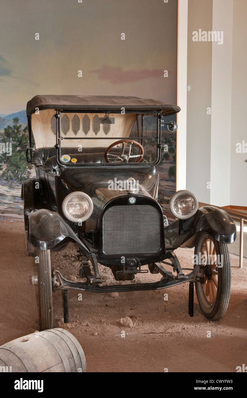 1916 Dodge Touring Car, Gen. Pershing's 'Punitive Exhibition' display at Pancho Villa State Park in - Stock Image