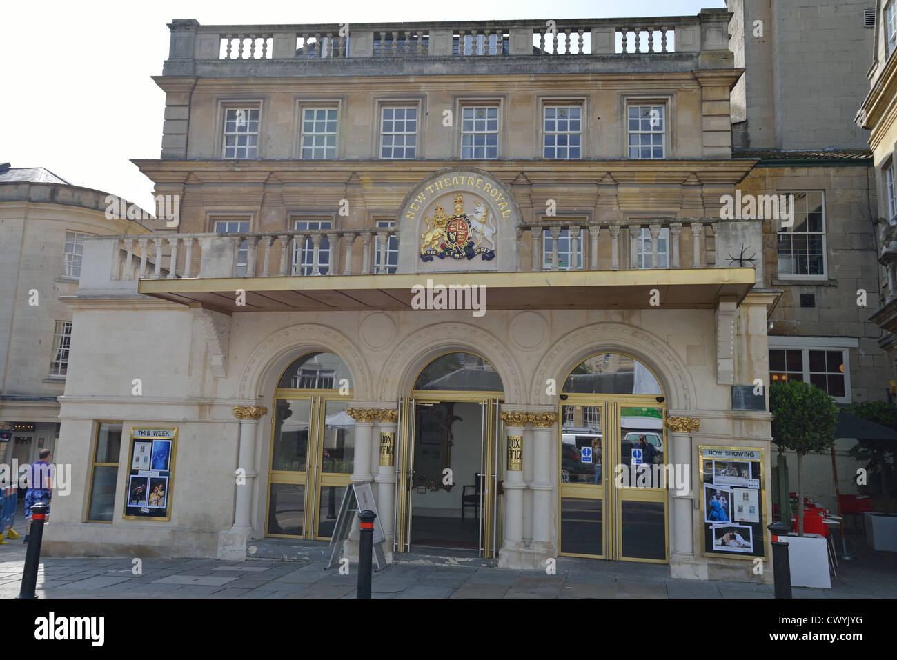 New Theatre Royal, Sawclose, Bath, Somerset, England, United Kingdom Stock Photo