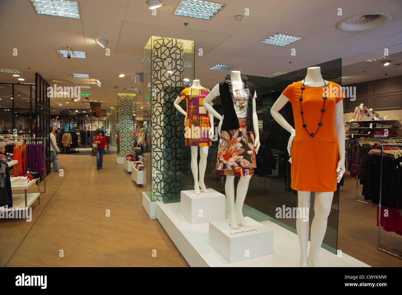 889f4e4a4f4 New women's clothing department Kaubamaja department store Tallinn Estonia  Europe - Stock Image