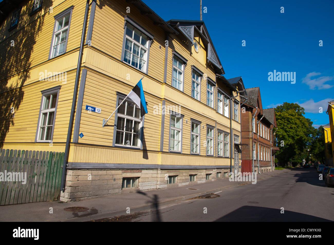 9da0623a44a Niine street Kalamaja district Tallinn Estonia Europe - Stock Image