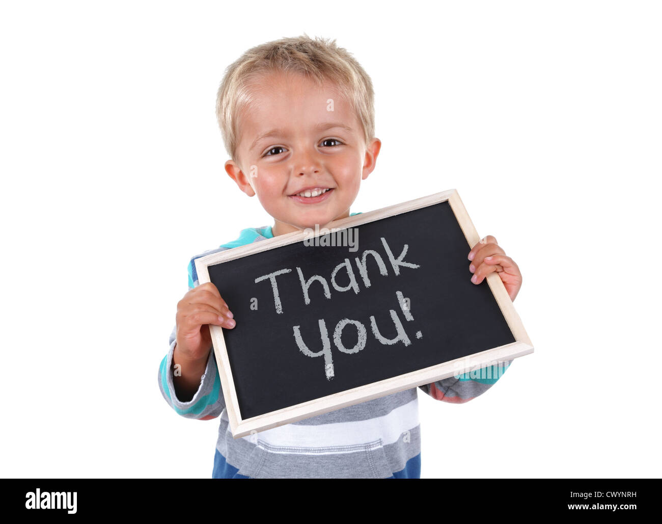 Thank you sign - Stock Image