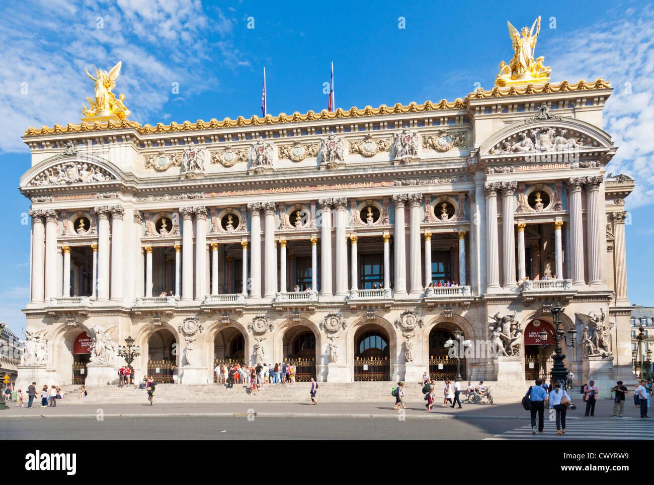 Opera Garnier, Place de l'Opera, Paris, France, Europe EU - Stock Image