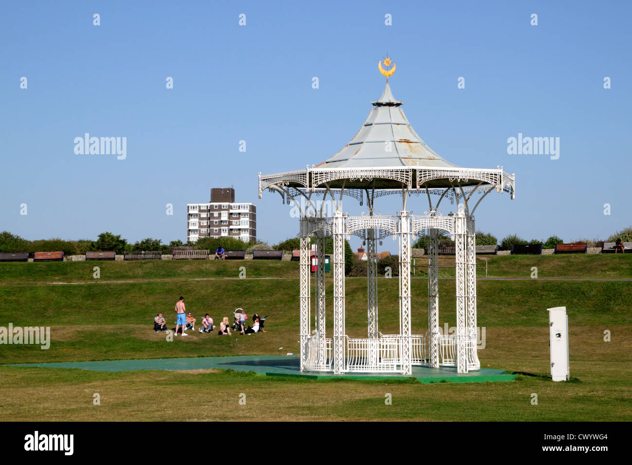 Bandstand Southsea Portsmouth Hampshire - Stock Image