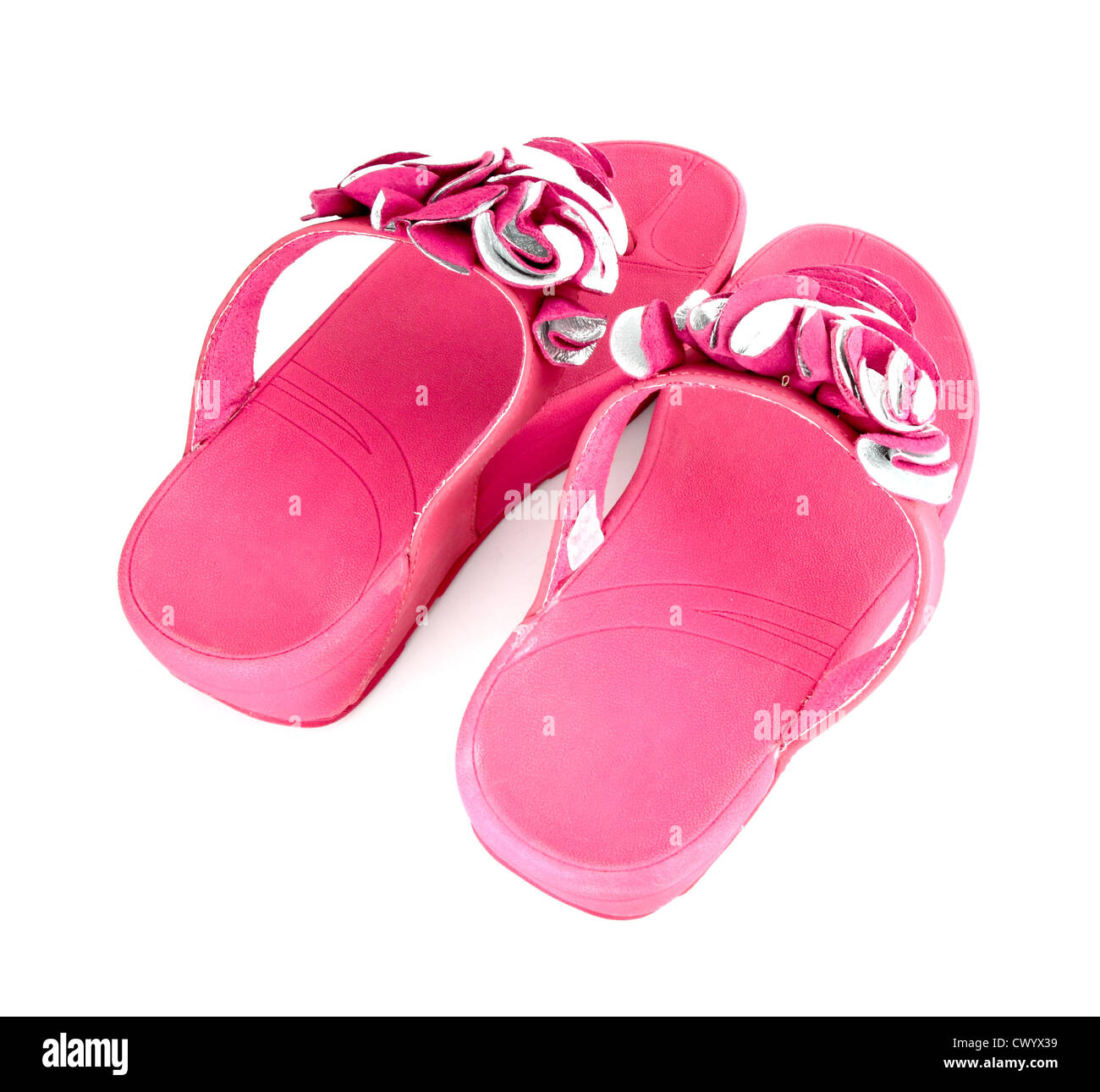 1f723ddd822 Pink Fluffy Slippers Stock Photos   Pink Fluffy Slippers Stock ...