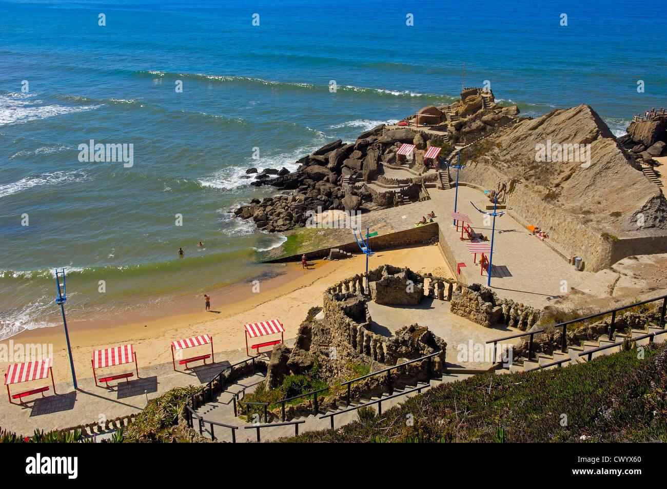 Santacruz, Praia formosa, Torres Vedras, Portugal, Europe - Stock Image