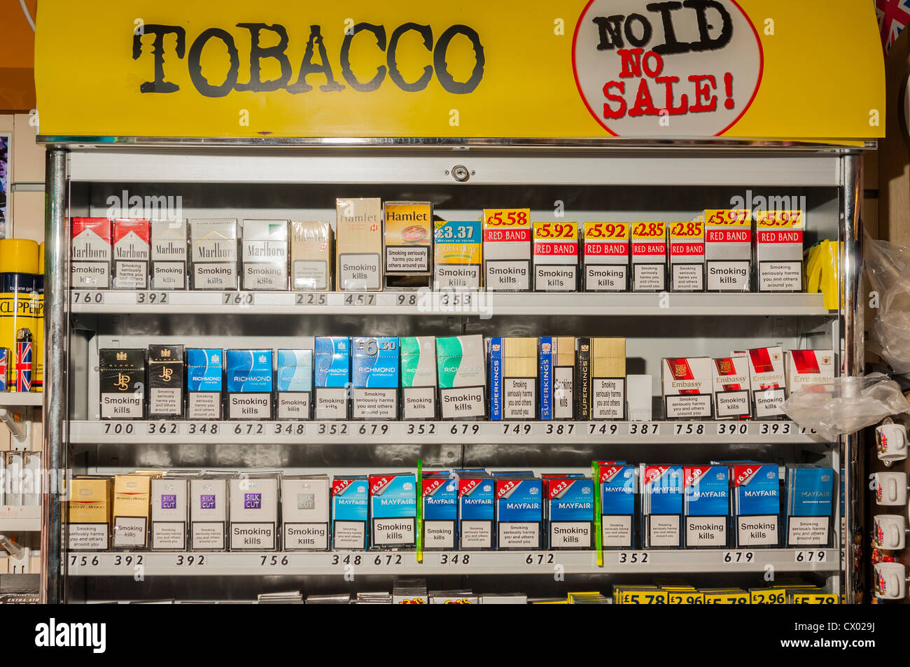 Duty free tobacco prices in Portugal