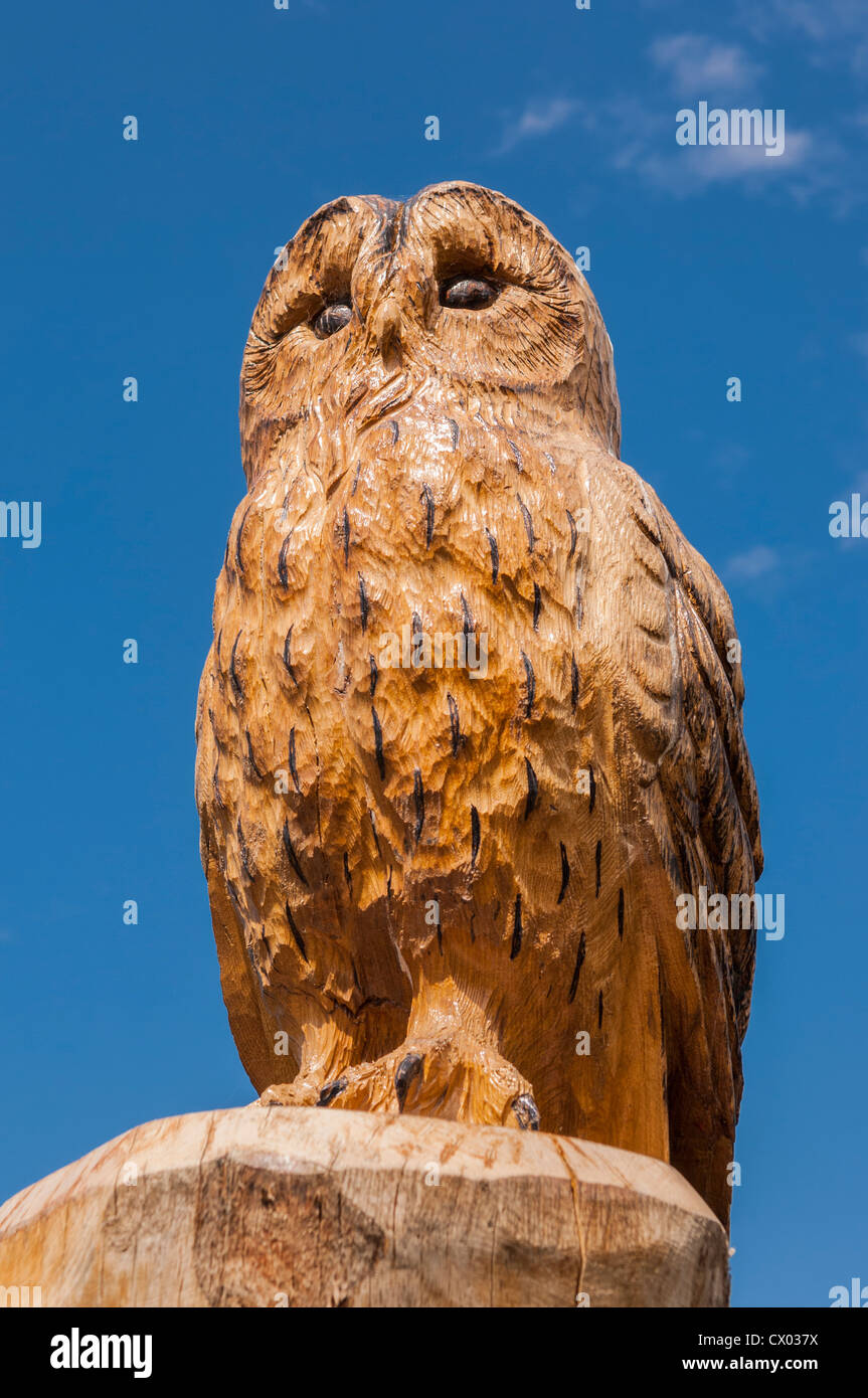 Wooden owl carving stock photos wooden owl carving stock images
