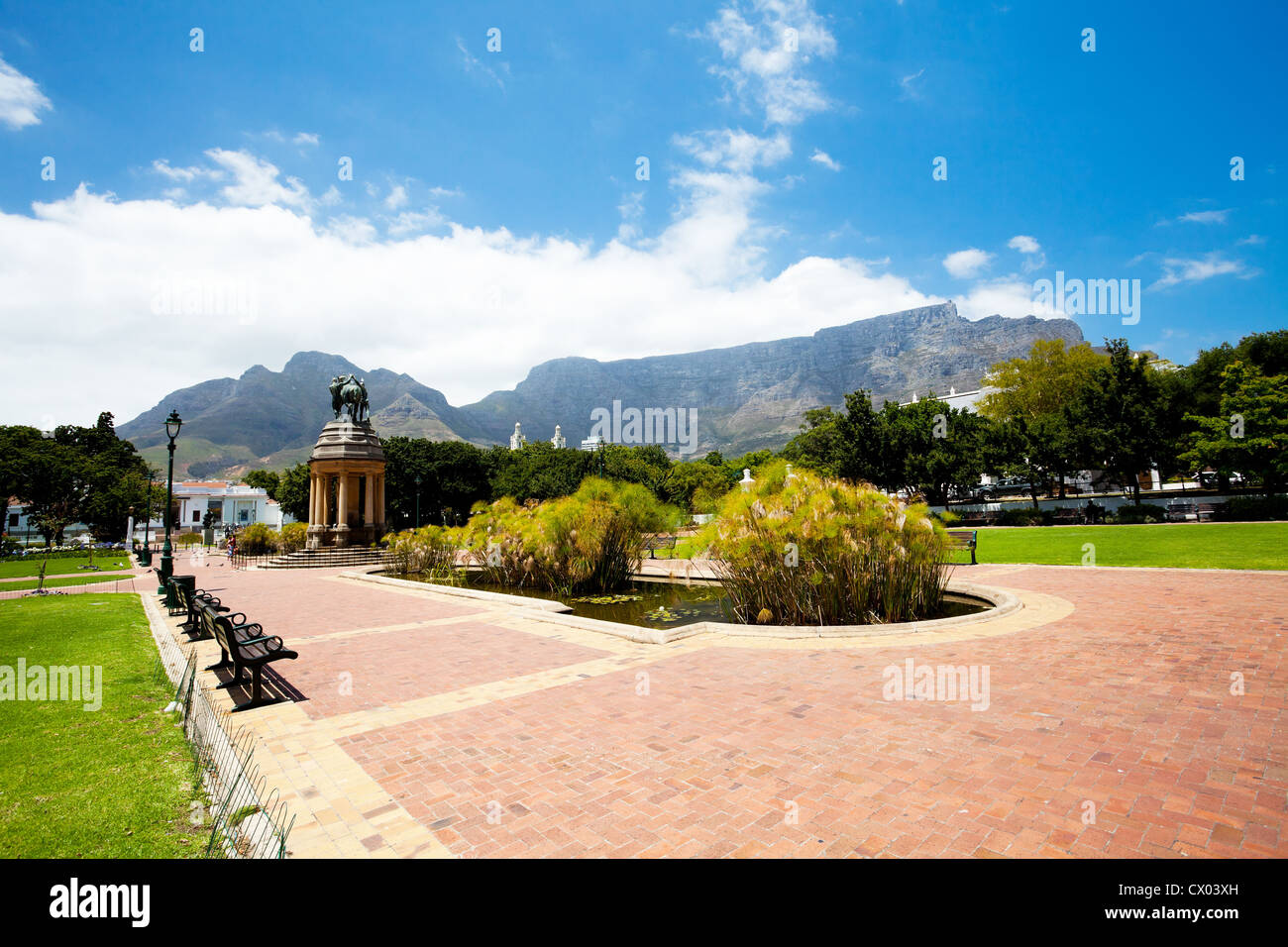 company's garden, cape town, south africa - Stock Image