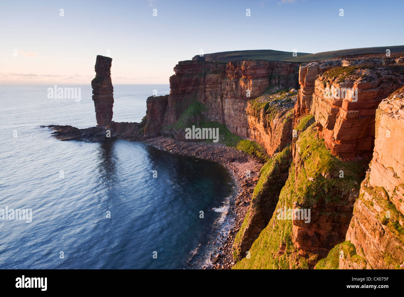 Old Man of Hoy, Hoy, Orkney Islands, Scotland, UK. - Stock Image