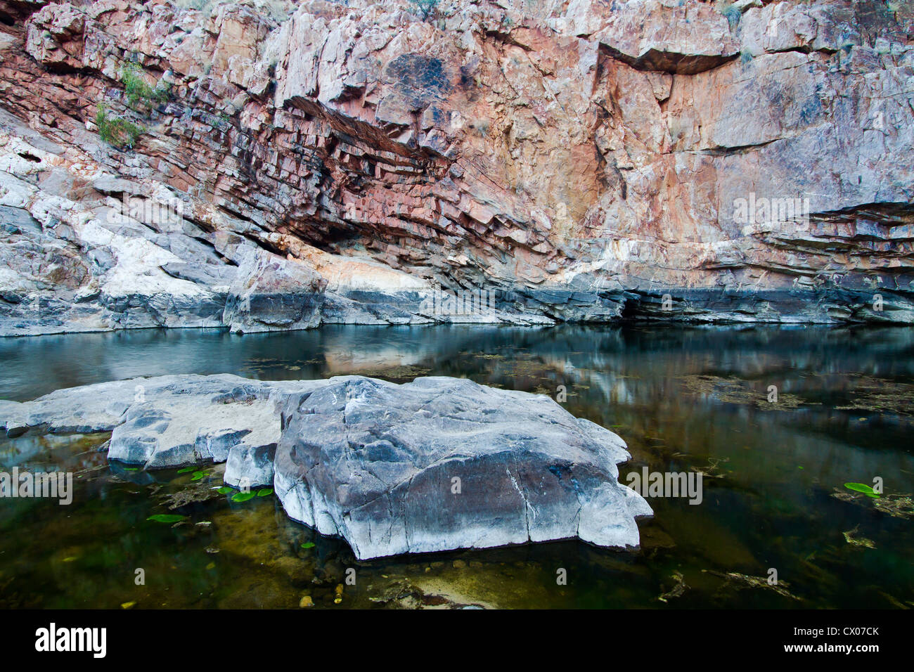 Ormiston Gorge, West Macdonell Ranges, NT, Australia. - Stock Image