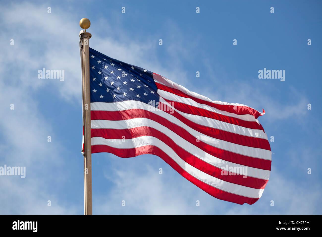United States national flag - Stock Image