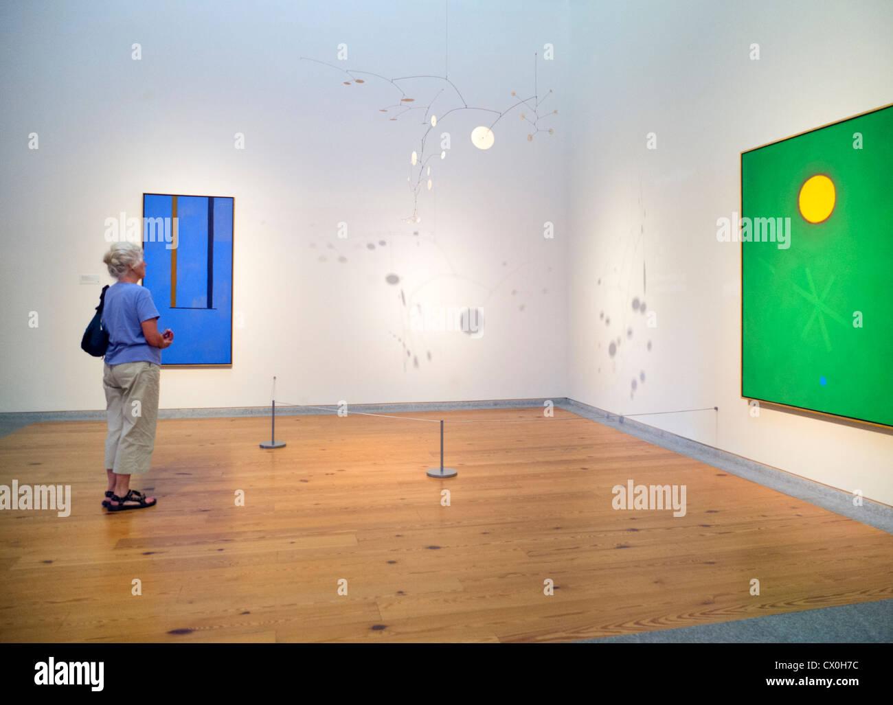 Portland Museum of Art in Maine Stock Photo