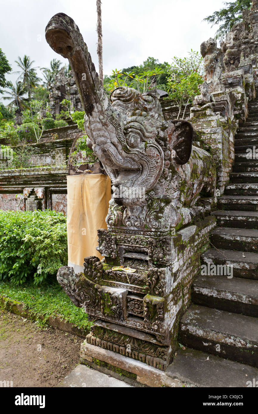 Part of the Temple Pura Kehen on Bali - Stock Image