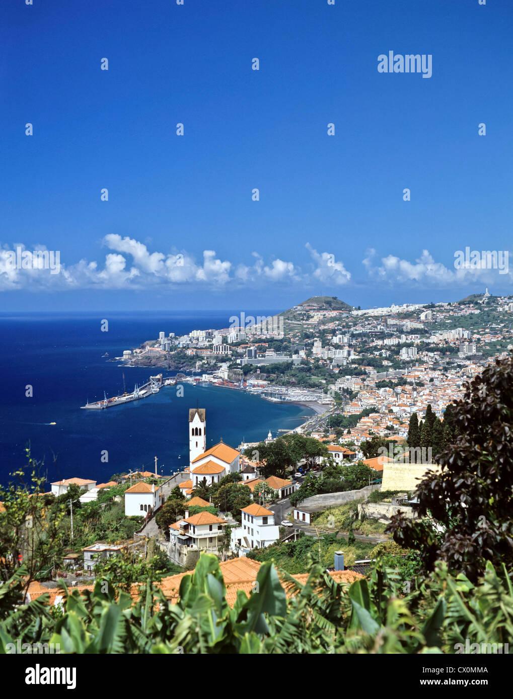 8201. Funchal, Madiera, Europe - Stock Image