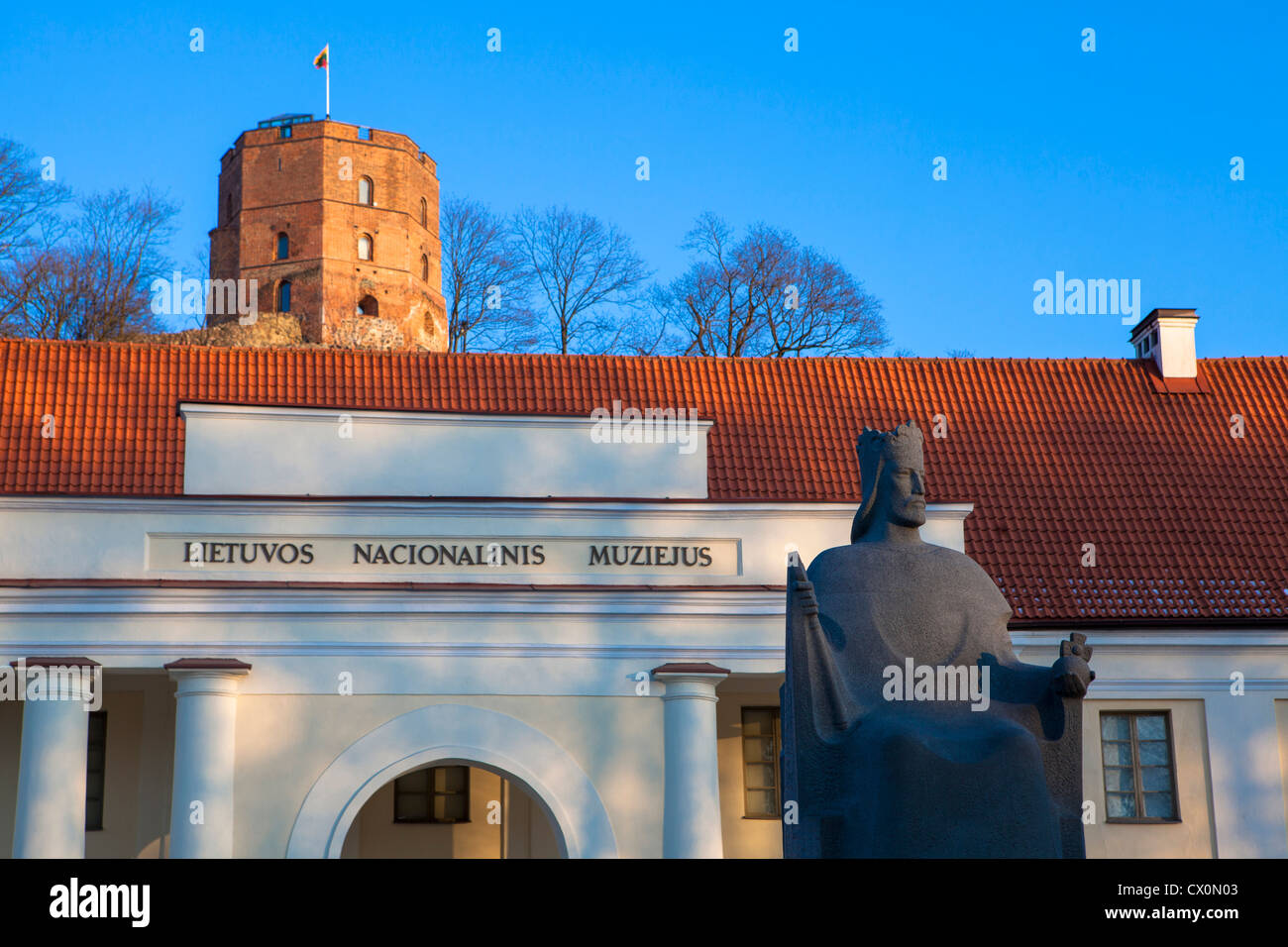 Architecture Vilnius Lithuania - Stock Image