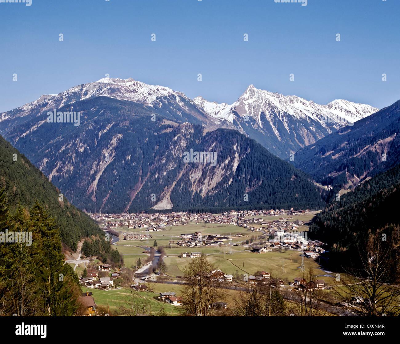 8236. Mayrhofen, Tirol, Austria, Europe - Stock Image