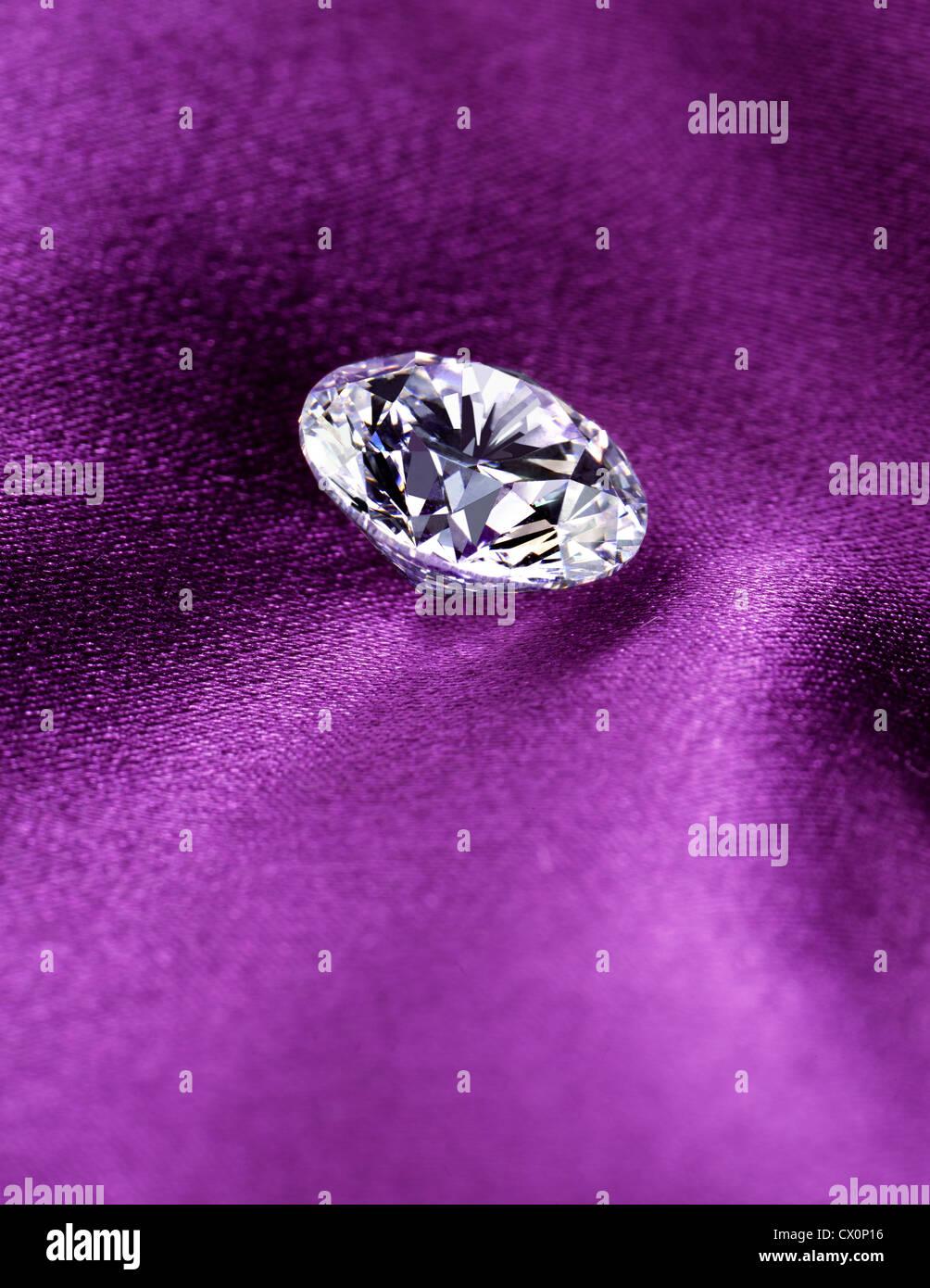 Diamond -Hearts on Fire - Stock Image
