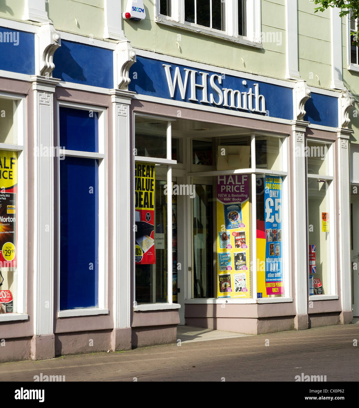 A WH Smith shop , UK - Stock Image