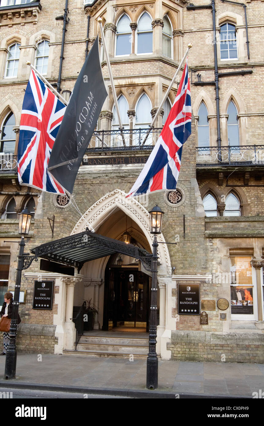 the randolph hotel oxford uk 5 star five luxury hotels - Stock Image
