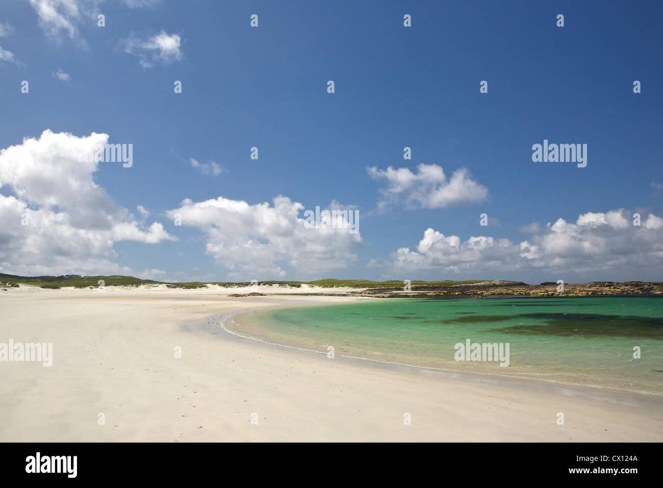 Deserted beach, Connemara, Republic of Ireland Stock Photo