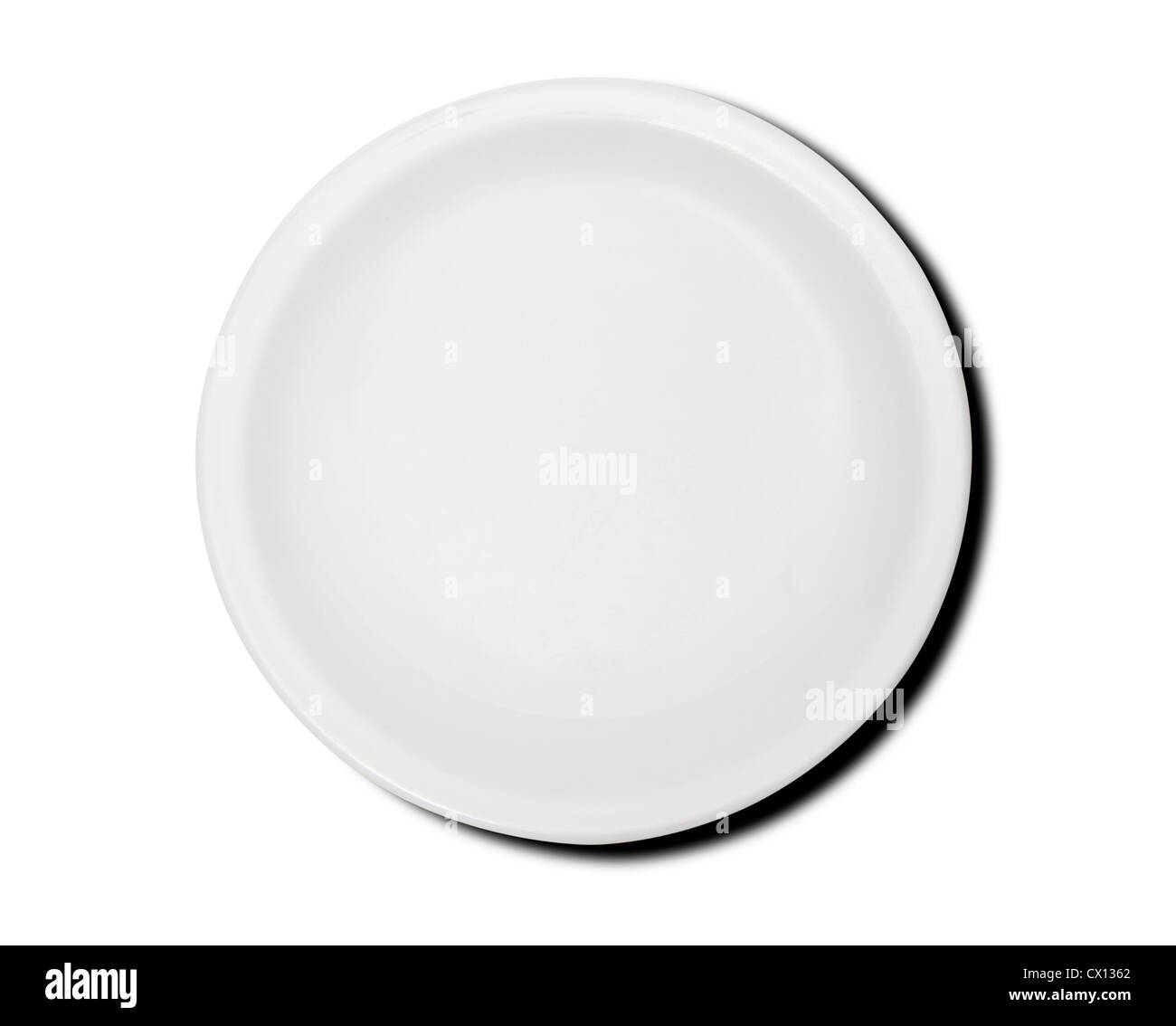 Empty plate - Stock Image