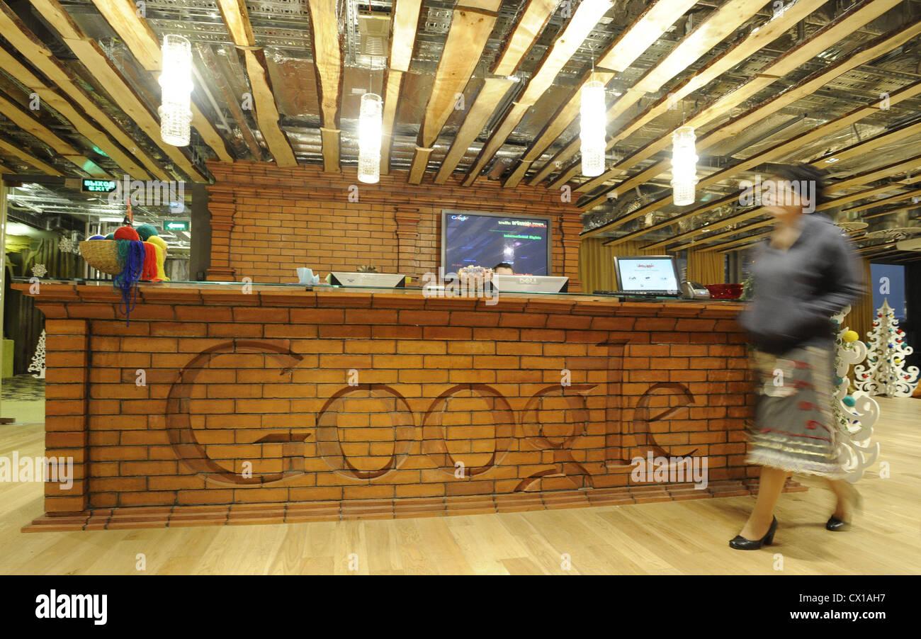 google russia office pinterest itartass moscow russia december 2010 google logo seen on the reception desk in office photo itartass alexei filippov google
