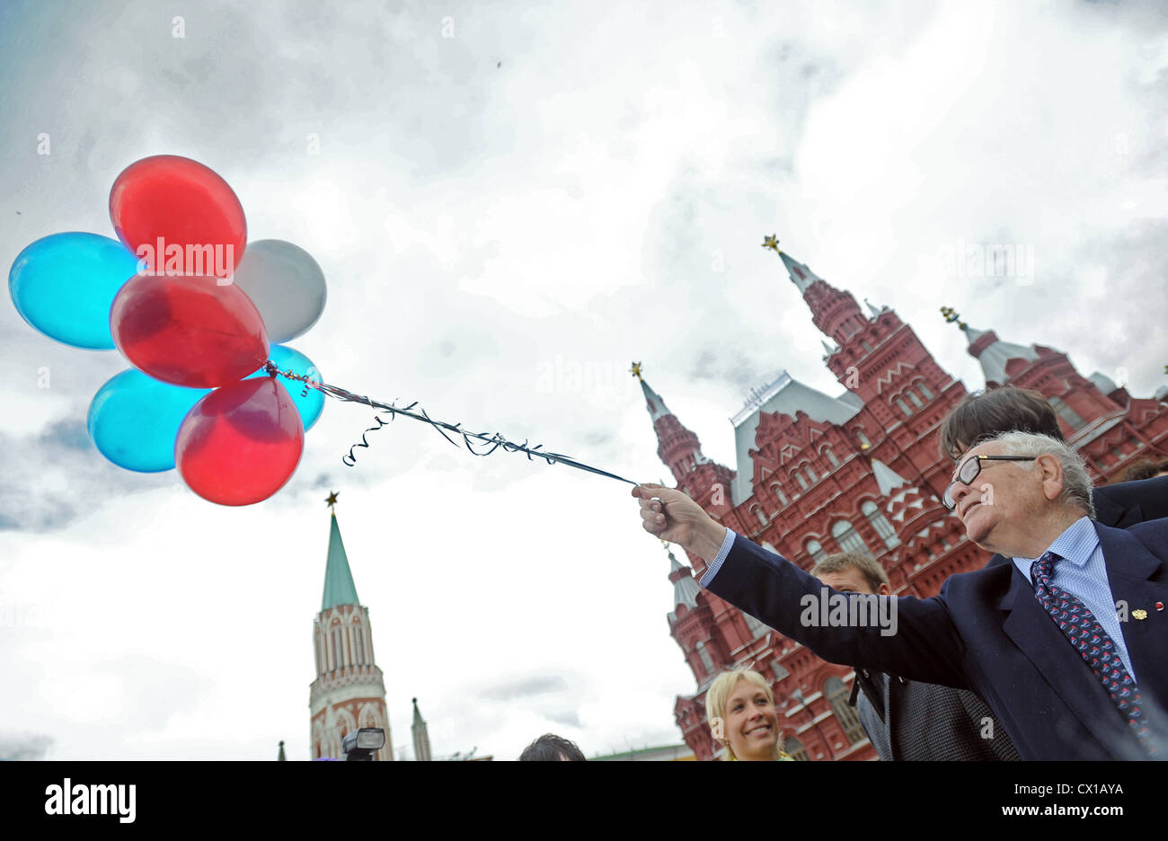 Itar Tass 40 Moscow Russia May 28 2010 Italian Born French Stock Photo Alamy