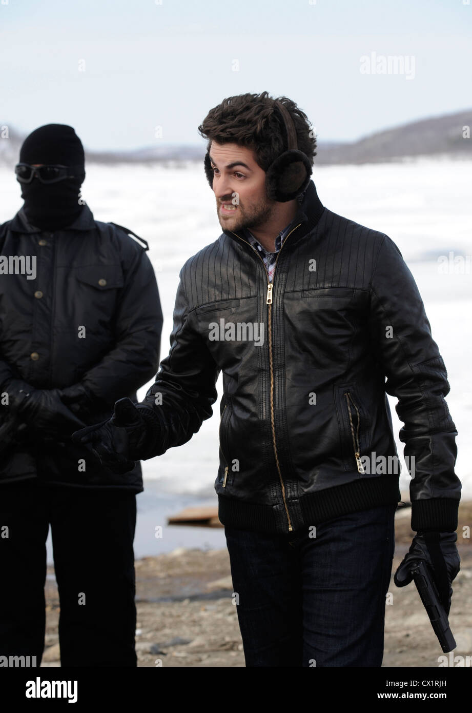 ITAR-TASS: MURMANSK REGION, RUSSIA. MAY 17, 2011. Bollywood actor Neil Nitin Mukesh on location for a new remake - Stock Image
