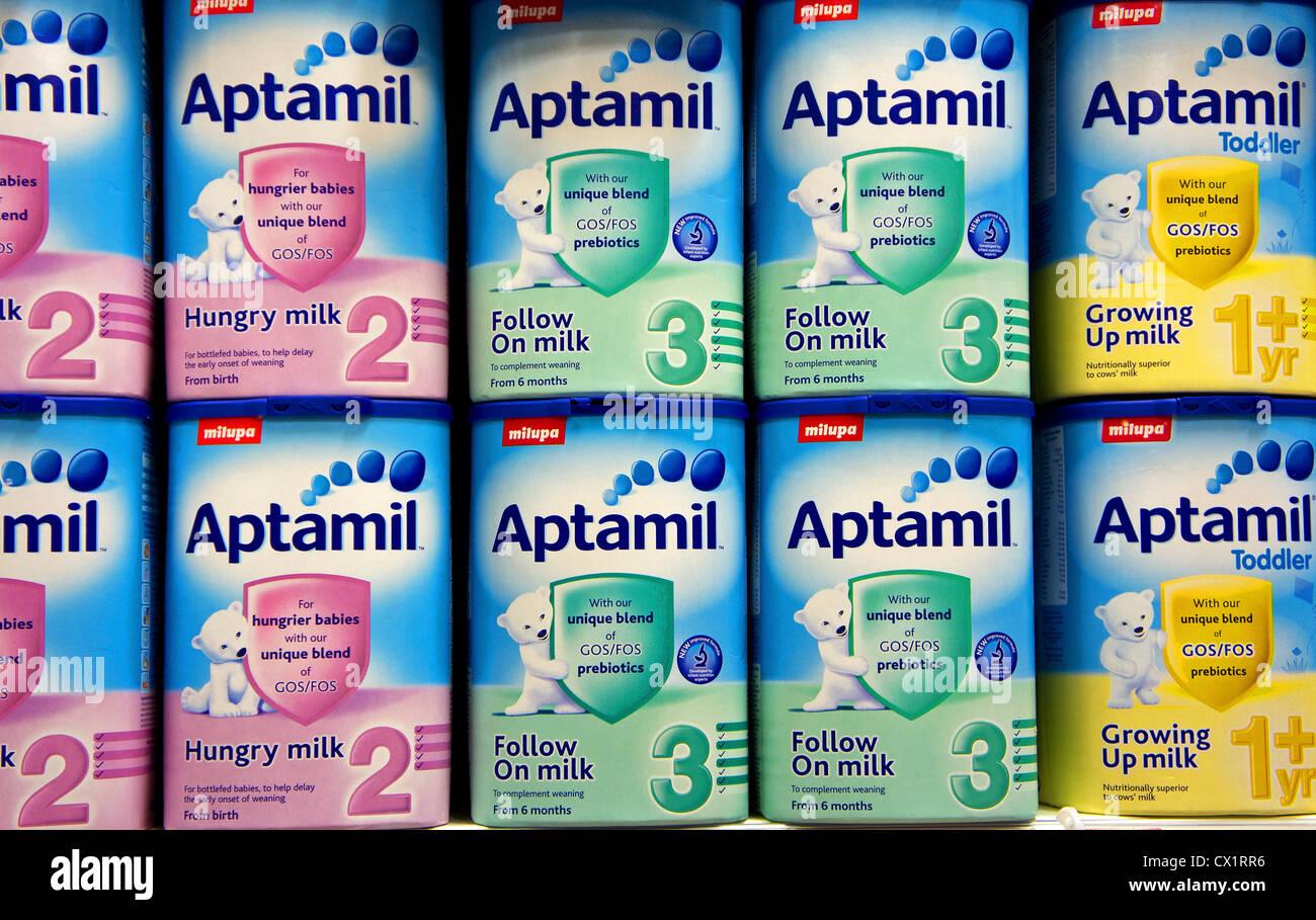 Aptamil Stock Photos & Aptamil Stock Images - Alamy