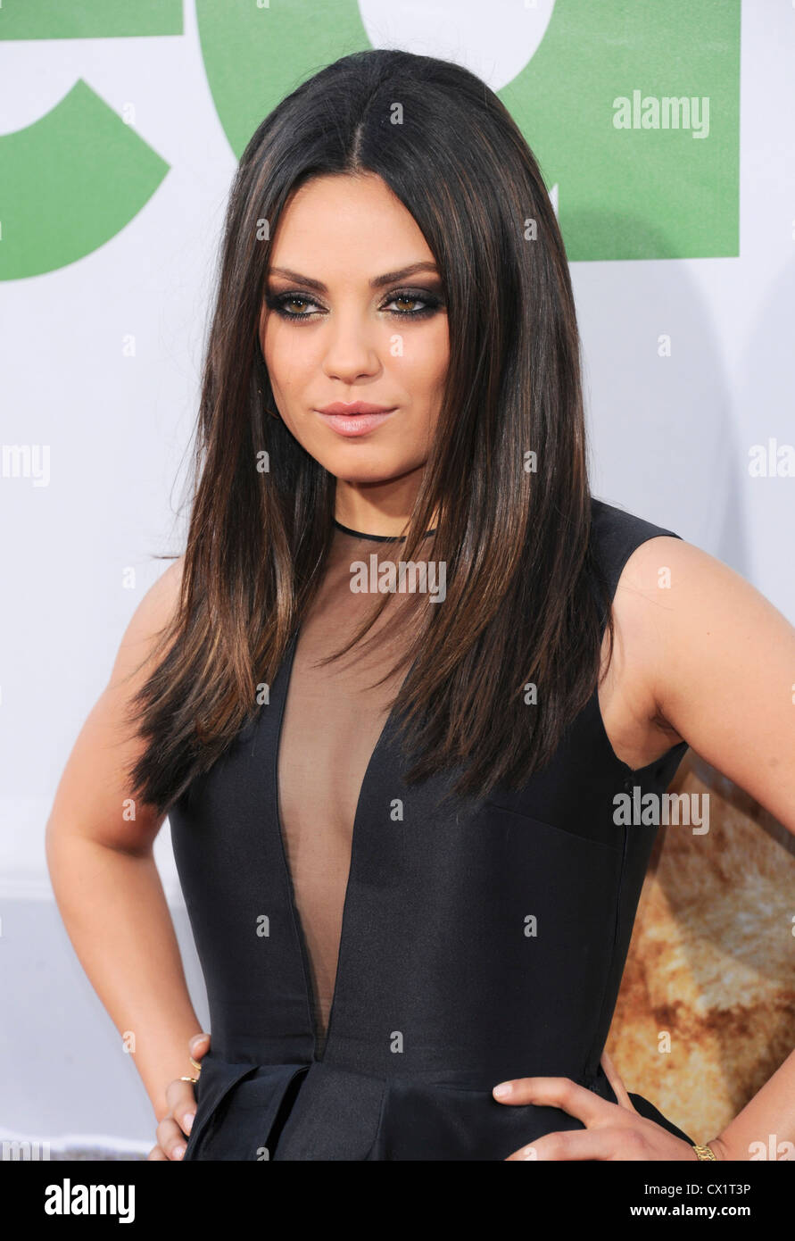 Los Angeles, California, USA. 21st June 2012. Mila Kunis © Sydney Alford / Alamy Live News Stock Photo