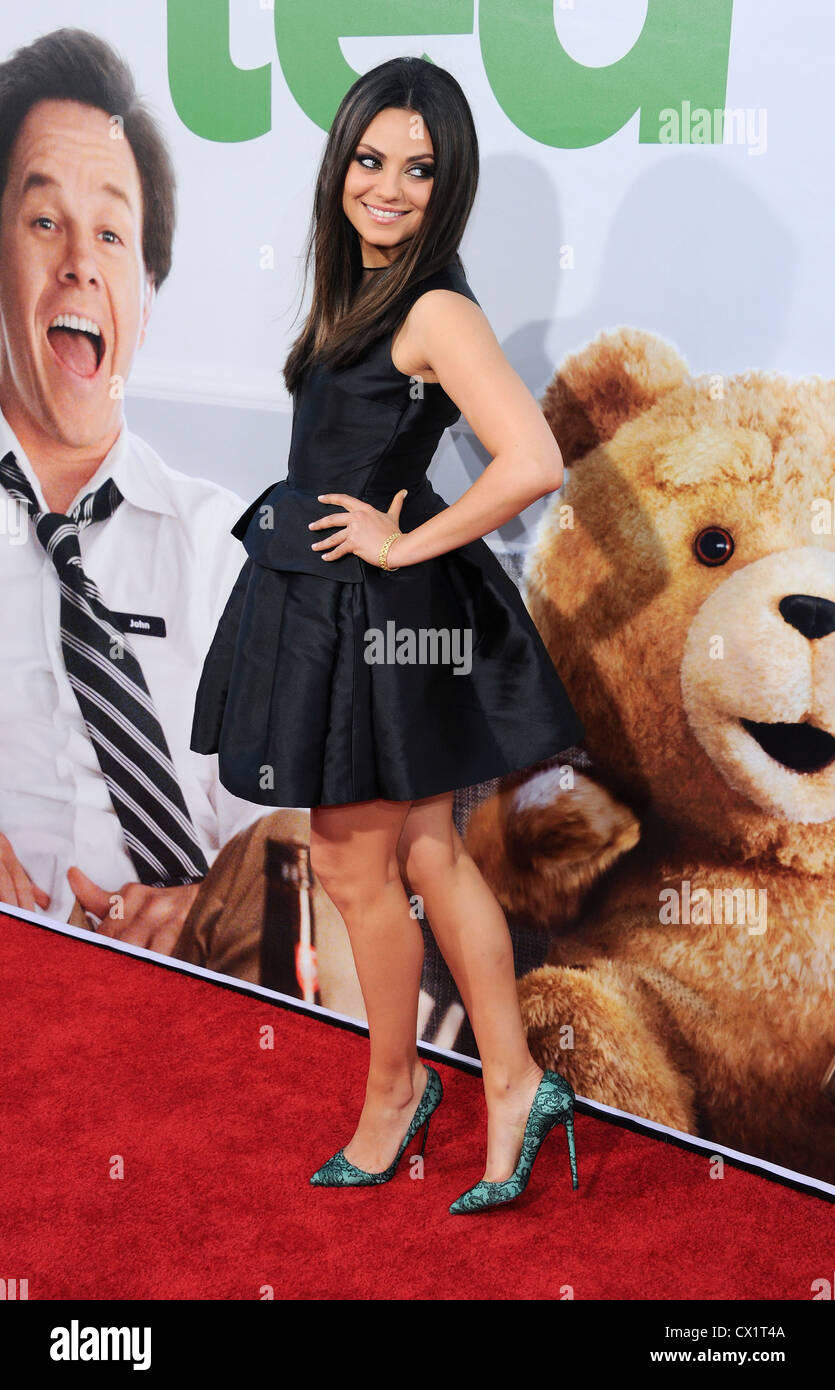 Los Angeles, California, USA. 21st June 2012. Mila Kunis © Sydney Alford / Alamy Live News Stock Photo
