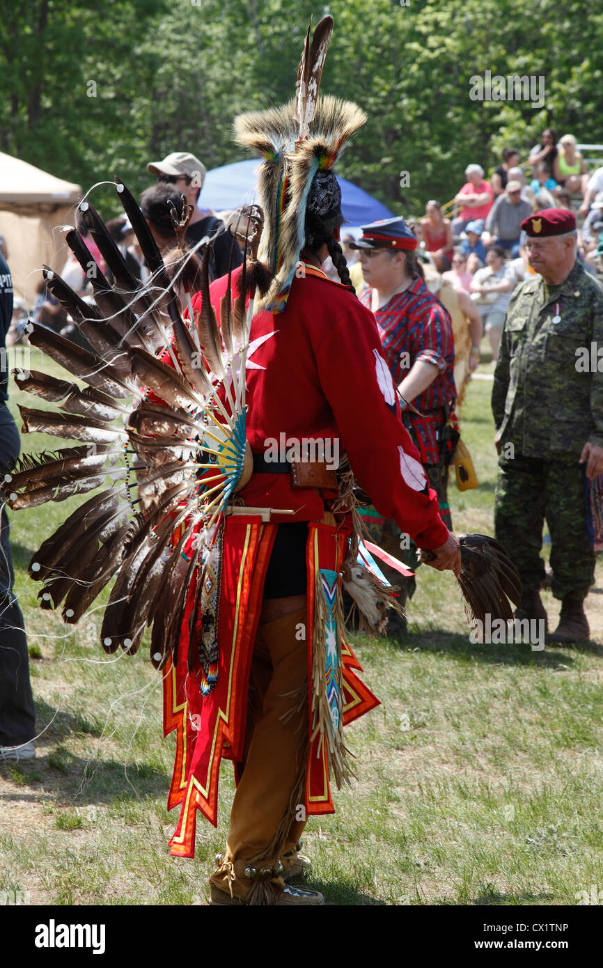 Canadian First Nations, The 36th Annual Odawa Festival of Aboriginal Culture & Traditional Pow Wow Ottawa Canada, - Stock Image