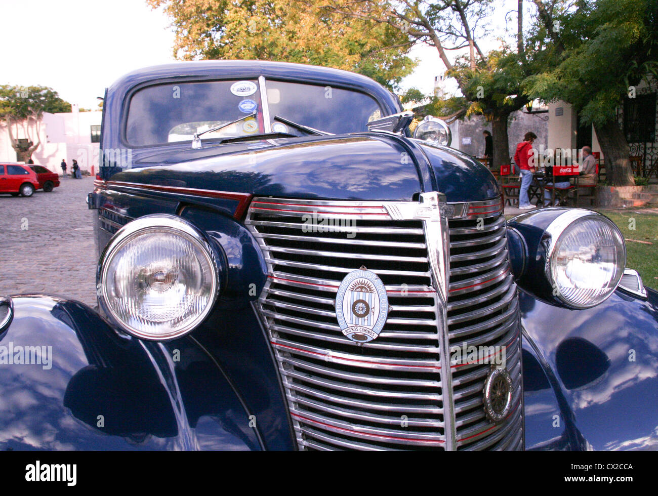 Old time cars in Colonia Uruguay Stock Photo: 50455450 - Alamy